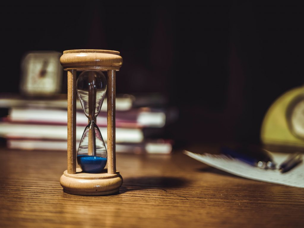 Egg timer to time your speechwriting